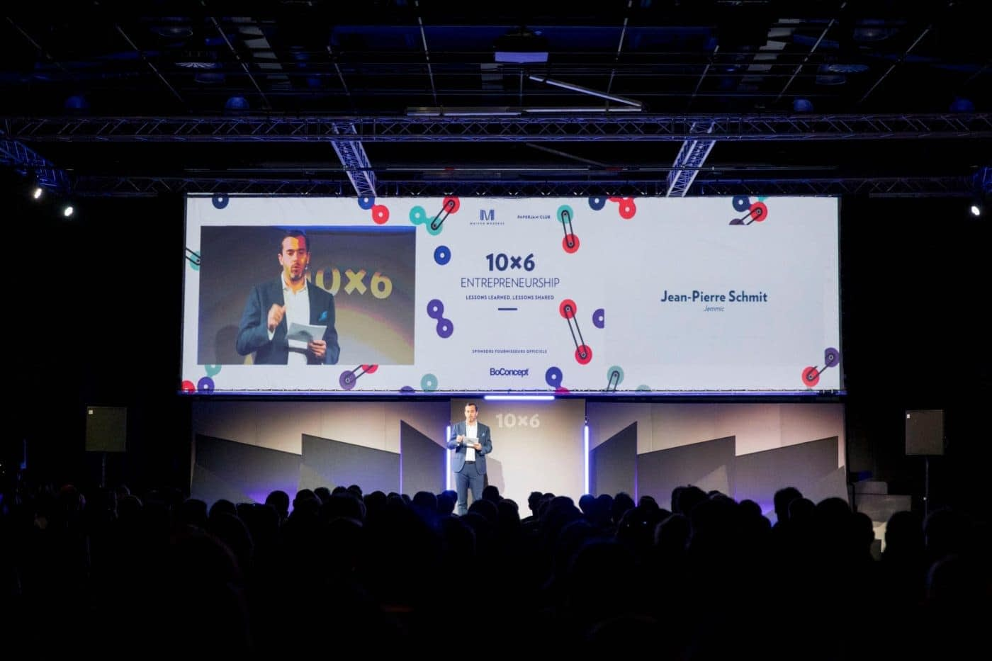 Jemmic at 10×6 Entrepreneurship: lessons learned, lessons shared