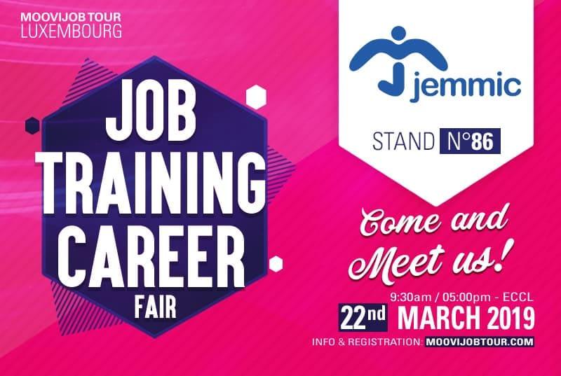 Jemmic at Job Training Career Fair 2019