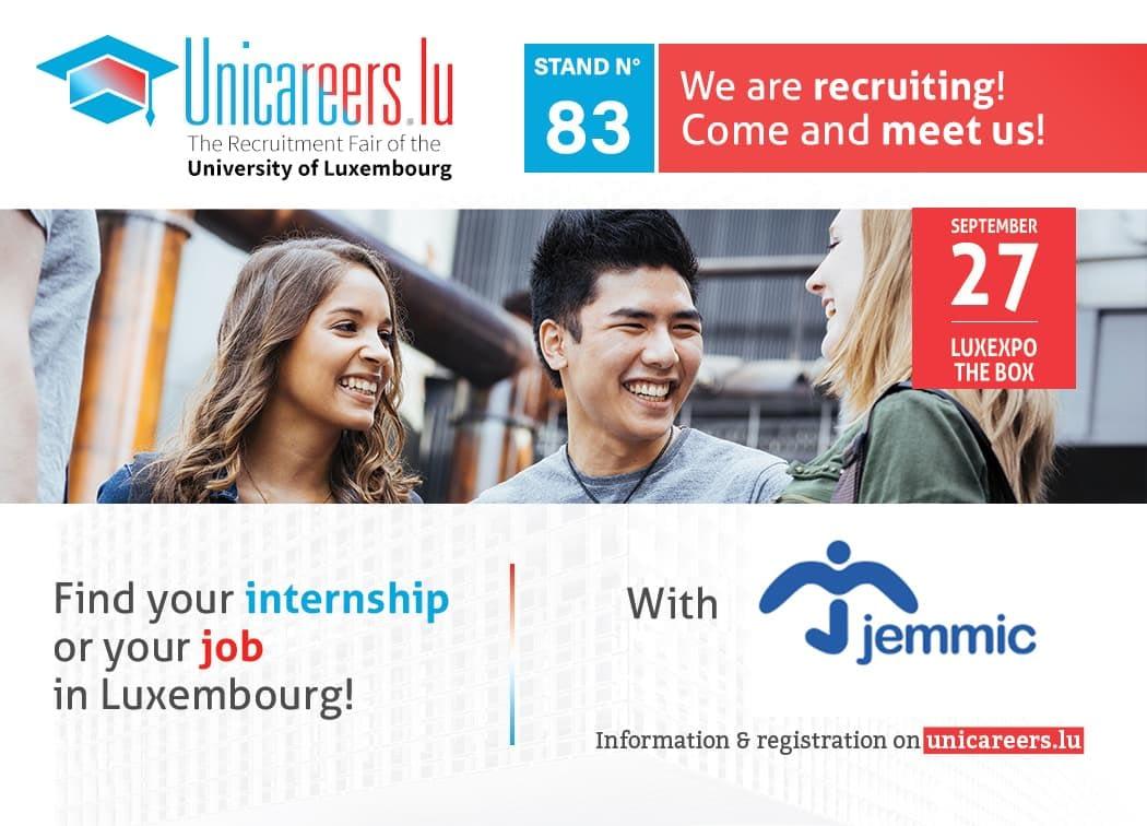 Jemmic at Unicareers.lu